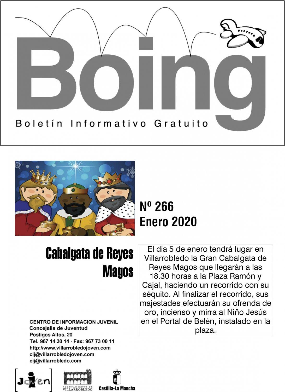 Portada del Boing 266