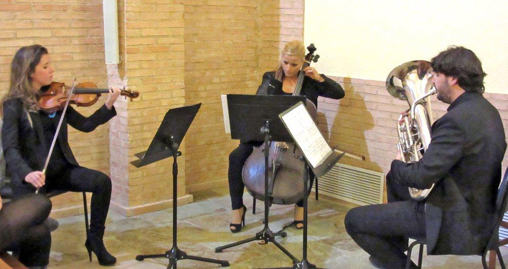 Profesores de la Escuela Municipal de Música.