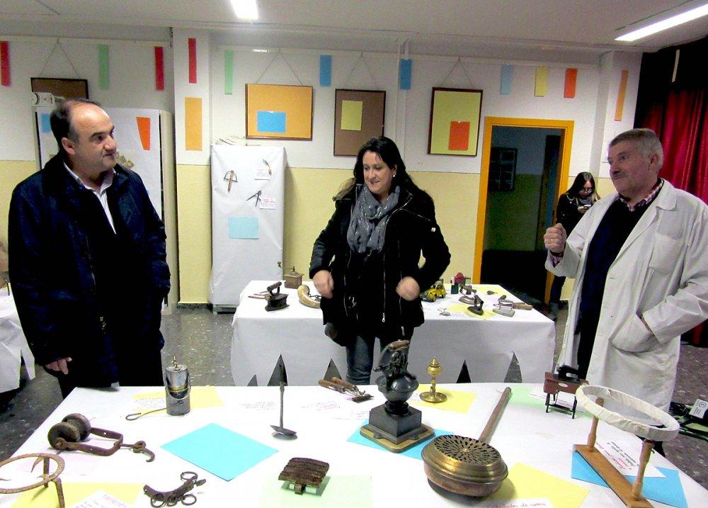 Valentín Bueno, Cristina García y Joaquín Ruiz.