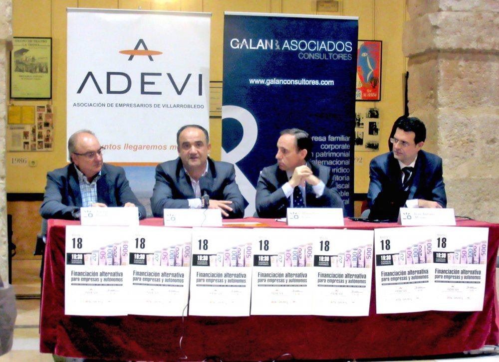 Agustín Leándrez, Valentín Bueno, Manuel Roque y Juan Antonio Moreno.