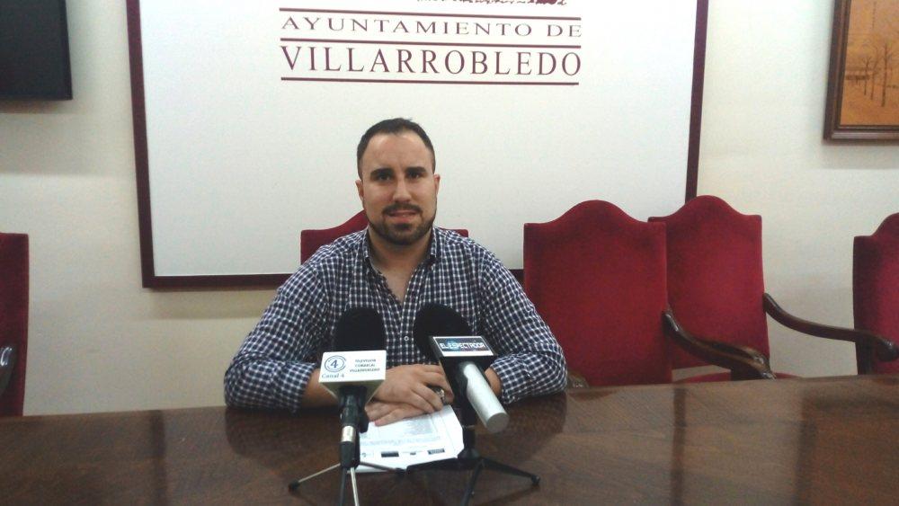 Germán Nieves, concejal de Empleo de Villarrobledo