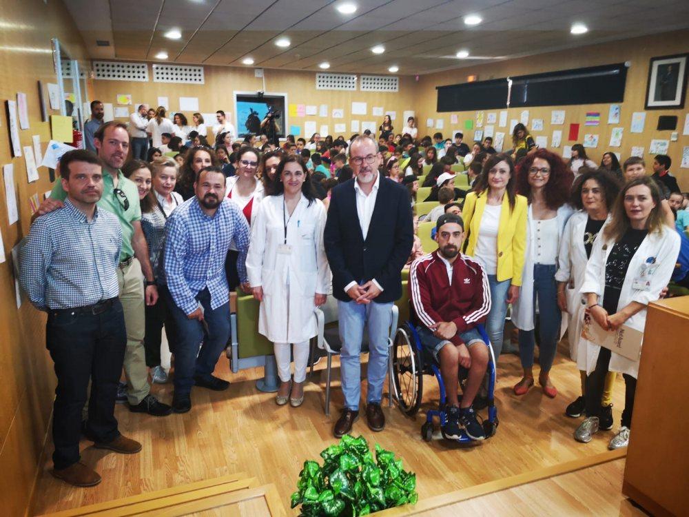 El Alcalde destaca la labor realizada por los profesionales sanitarios y docentes en el fomento de los Hábitos de Vida Saludables entre los escolares de la localidad