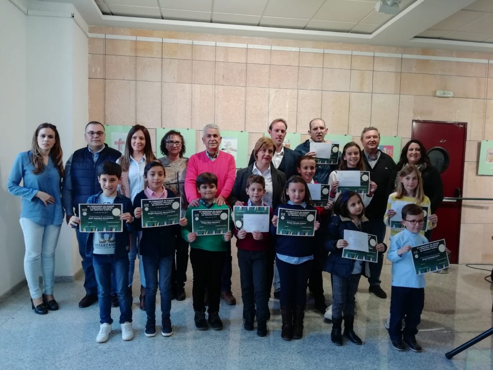 Entregados los premios del XI concurso de dibujo y pintura infantil sobre la Semana Santa