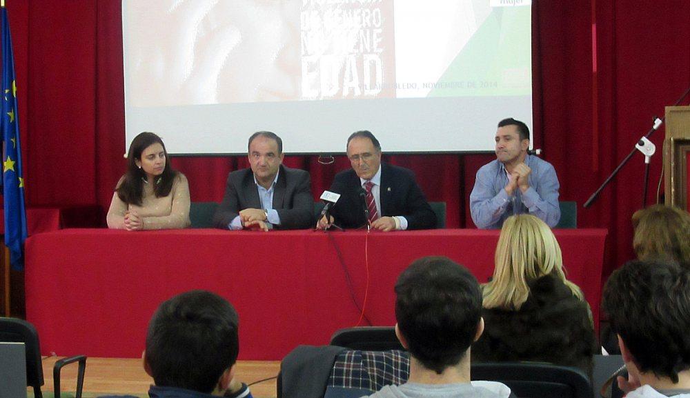 Belén Torres, Valentín Bueno, Federico Pozuelo y Lisardo Fernández.