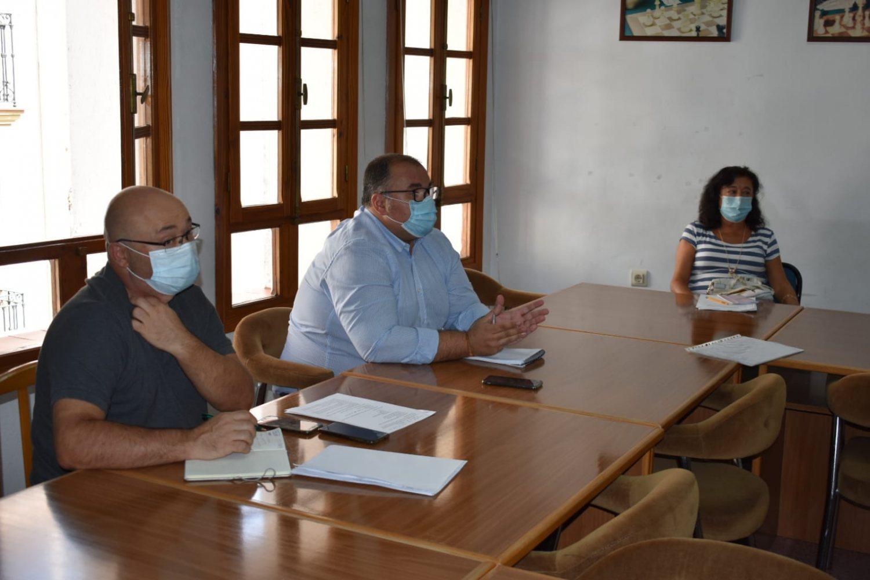 Reunión Bernardo Ortega, servicio UP 1