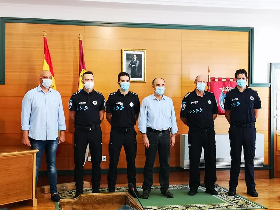Bienvenida 3 nuevos agentes policía local