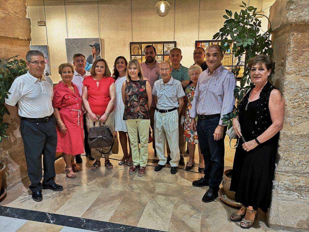 Inauguración exposición Grupo Zarcillo
