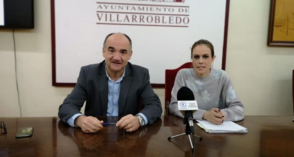 Valentín Bueno, Ana Hernán concejal de empleo (archivo)