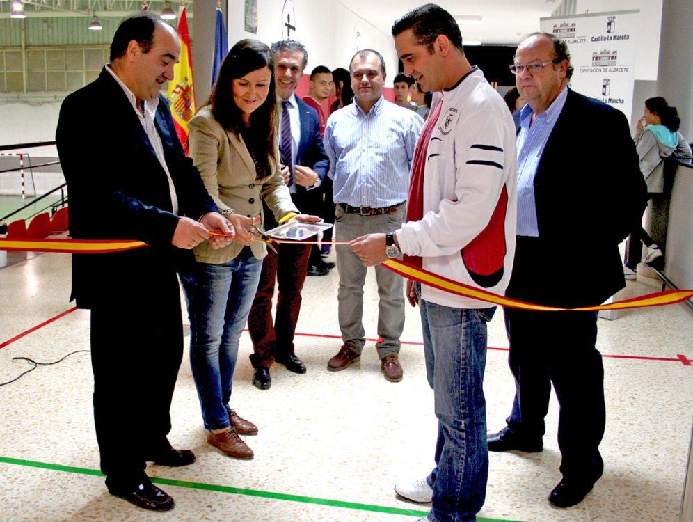 Inauguración de las instalaciones.