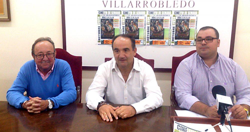 Juan Luis Pachón, Valentín Bueno y Bernardo Ortega.