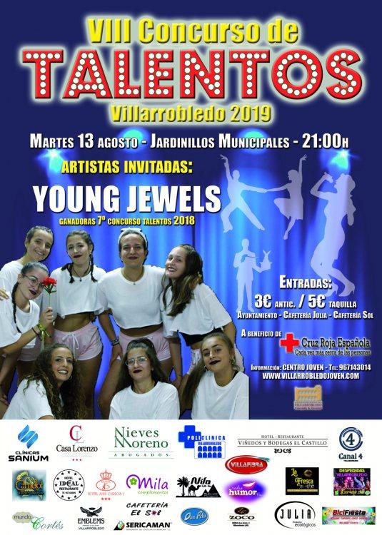 Cartel VIII Concurso de Talentos 2019