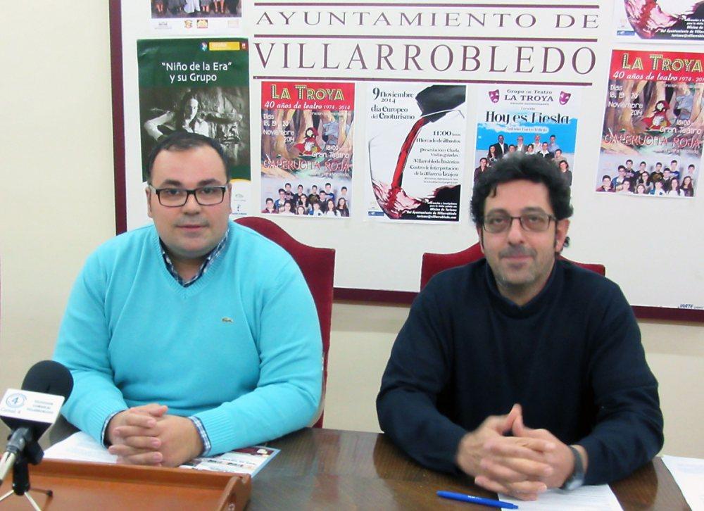 Bernardo Ortega y José Luis Montero.