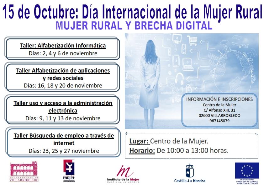 Talleres por el 15 de Octubre: Día Internacional de la Mujer Rural