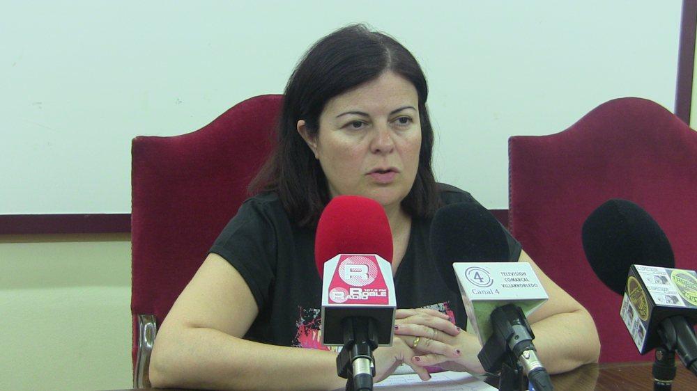 Trinidad Moyano, concejala de Cultura del Ayuntamiento de Villarrobledo