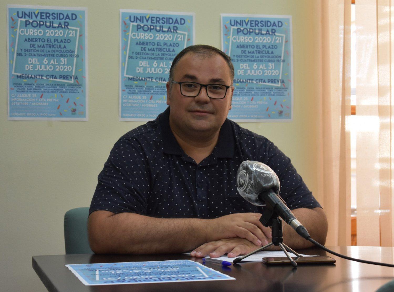 Bernardo Ortega, concejal de cultura