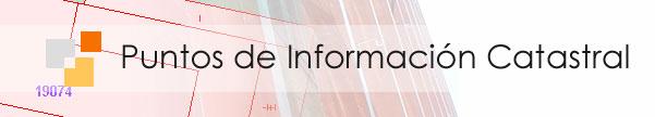Logo de los Puntos de Información Catastral.