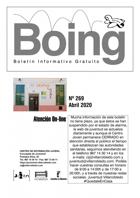 Portada del Boing 269