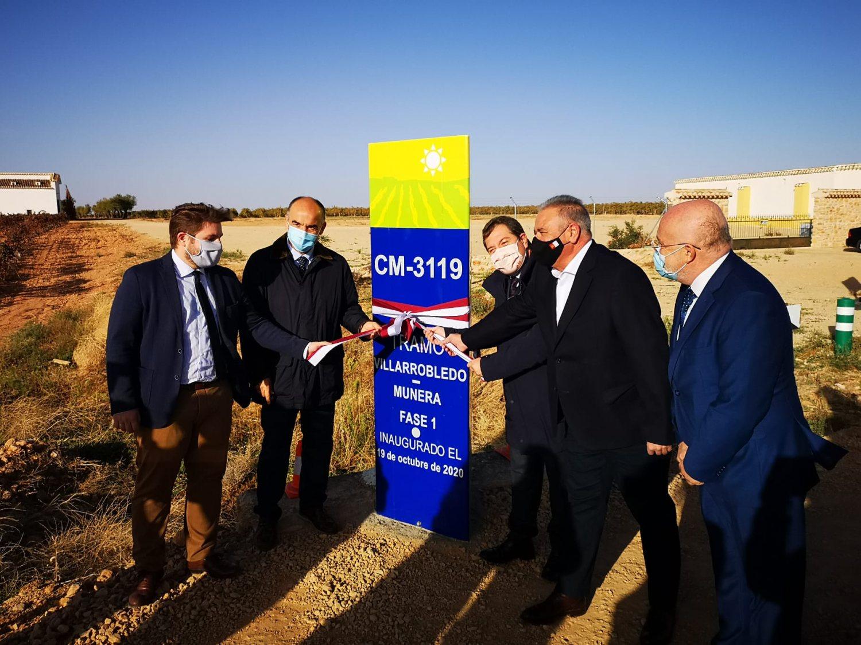 Inauguración Arreglo carretera Munera 2