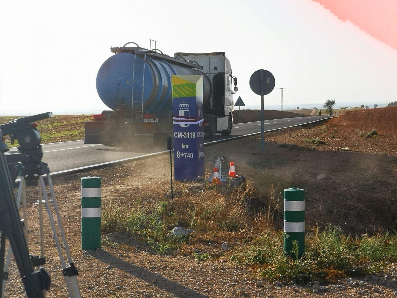 Inauguración Arreglo carretera Munera 1