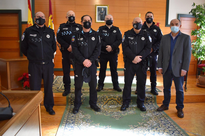 Reconocimientos y nuevas incorporaciones Policía Local Villarrobledo