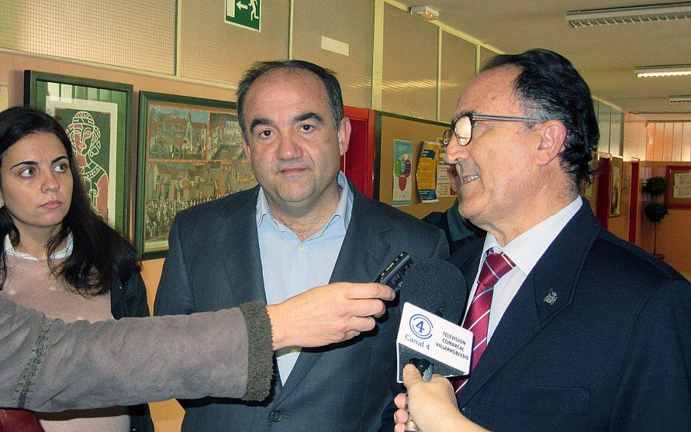Belén Torres, Valentín Bueno y Federico Pozuelo.