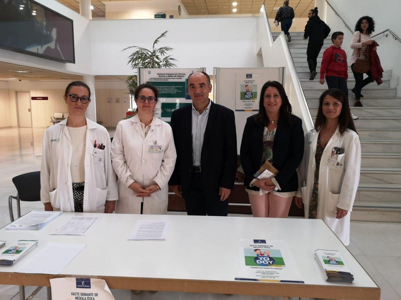 Campaña Donación de Médula Ósea Hospital de Villarrobledo