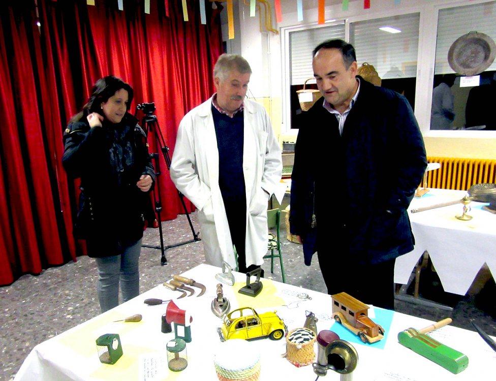 Cristina García, Joaquín Ruiz y Valentín Bueno.